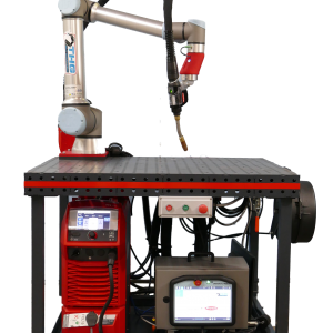 collaborative welding robotic cobot universal robots UR10e fronius TPS 400i